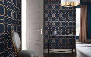 Обои синего цвета в интерьере: 170 фото новинок дизайна и сочетания