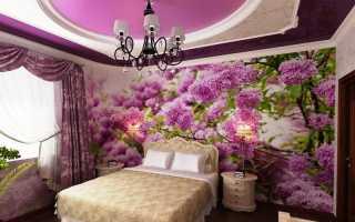 Как выбрать фотообои с цветами: примеры интерьеров на фото