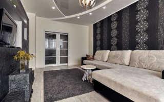Комбинированные обои для зала (100 фото): 10 видов дизайна для гостиной с обоями двух цветов