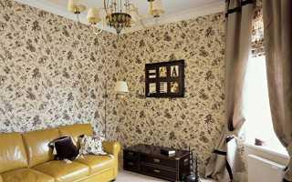 Обои для зала: красивые идеи на фото, комбинирование обоев в гостиной