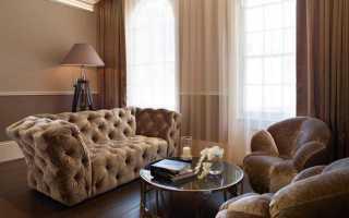Коричневый цвет в интерьере и его сочетание с другими оттенками: выбираем коричневые шторы, мебель, обои и элементы декора