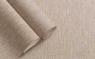 Виниловые обои на бумажной и флизелиновой основе — особенности выбора и поклейки