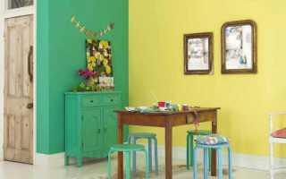 Как выбрать обои под покраску и покрасить обои правильно