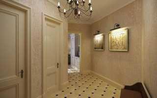 Обои для прихожей и коридора, какие выбрать обои в прихожую под темные двери