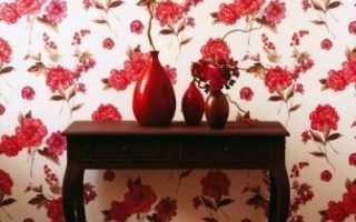 Бумажные обои с цветами — преображение интерьера
