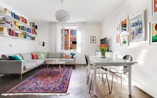Интерьер в шведском стиле: особенности шведских обоев и дизайна элементов интерьера