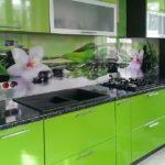 Панель на кухне