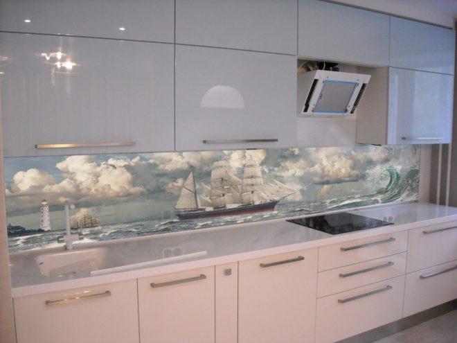 Панель для фартука на кухне