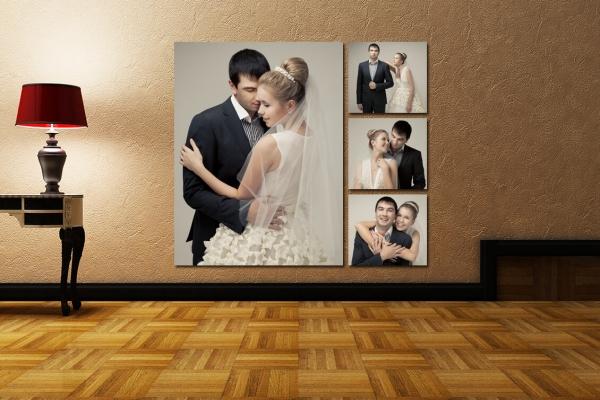 Фотообои напечатанные на холсте